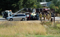 Fatal accident highway 20 near Blodgett