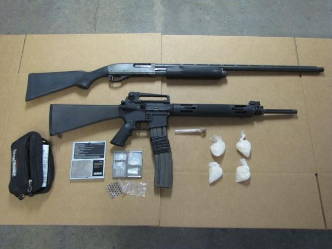 Southern Oregon bust nets meth, pot, guns and 3 arrests
