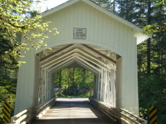 Cascadia covered bridge