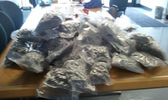 State police nab 26 lbs of pot during traffic stop