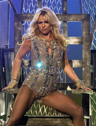 GMA Concert Britney Spears