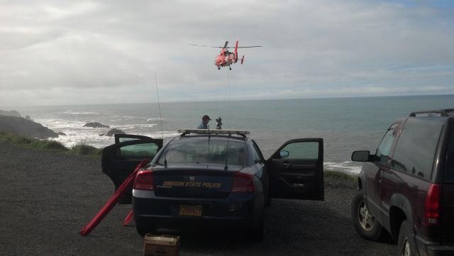 Fatal car crash off 250-foot Oregon Coast cliff