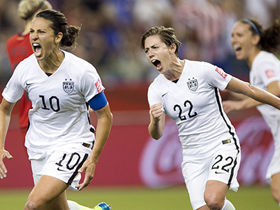 US prevails in 2-0 victory over top-ranked Germany