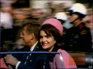 Newly discovered film shows Kennedy motorcade just before assassination