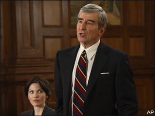 Sam Waterston negotiating for 'Law & Order' promotion