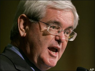 Gingrich will not run for White House in 2008