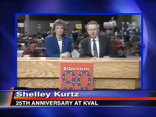 Shelley Kurtz: KVAL celebrates anchor's 25 years on air in Eugene
