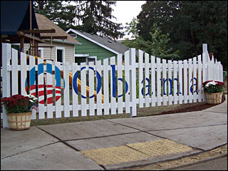 Fences make good neighbors -- and political signs