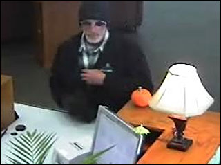 Pedaling from police, suspect crashes into prime position in 5 bank robberies in last 6 weeks