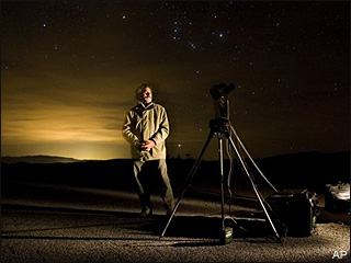 Death Valley works to preserve night sky
