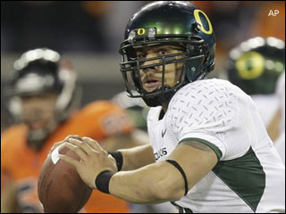 Ducks QB Masoli focused on Boise State game