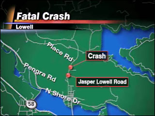 Passenger killed in crash on Jasper Lowell Road