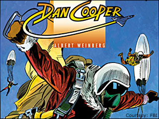 FBI links French comic book to D.B. Cooper