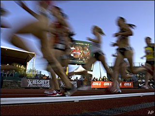 Hayward Field hosts US track championships