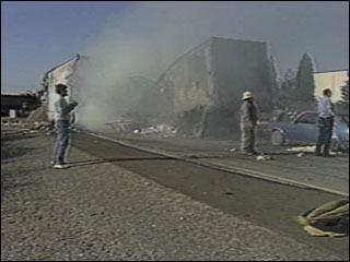 FILE VIDEO: Aftermath of 1988 I-5 pileup blamed on field burning