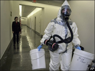U.S. on verge of closing anthrax probe after 8 years