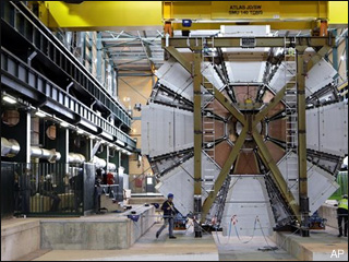 Atom smasher closes in on elusive particle