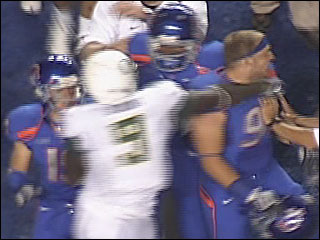 Raw Video: BSU-UO second half highlights