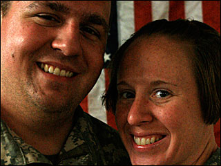 Corvallis newlyweds serving in Iraq