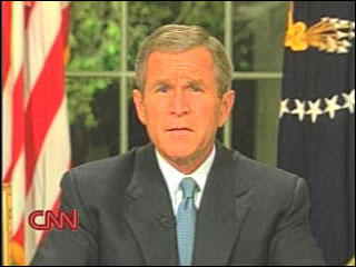 President Bush's speech to nation on 9/11
