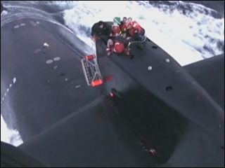 Sailor airlifted from submarine