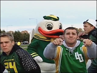 Duck sits out game after rap video appearance