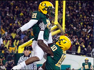 Ducks beat Beavers to win Pac-10 title and Rose Bowl berth