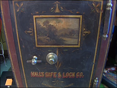 Shroud of mystery surrounds unopened safe from 1891