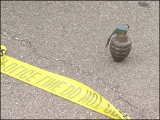 Grenade found in donated items at Goodwill