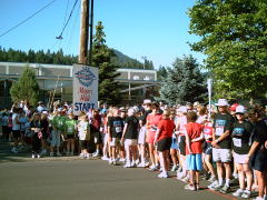 Mayor's fitness walk,Butte to Butte 2009