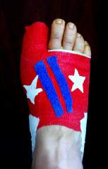 The 4th of July Foot