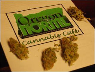 A look inside Oregon's first marijuana cafe