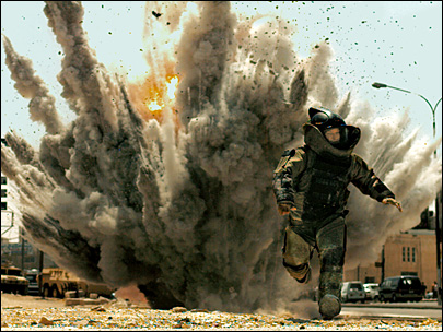 'Hurt Locker' takes best-picture, best director