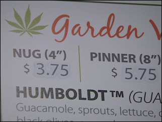 Marijuana-themed sub shop opens in Eugene