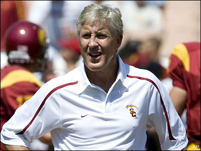 Pete Carroll chosen for USC athletic hall of fame