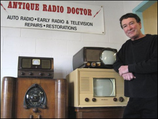 Want to repair an antique car radio? The doctor is in