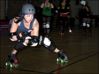 Roller Derby: 'This is not scripted. This is real'