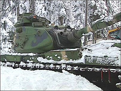 Washington combats avalanches with heavy artillery