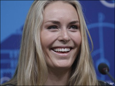 Lindsey Vonn gets her `Law & Order' wish next week