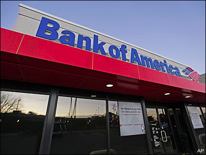 Bank of America's online banking crashes