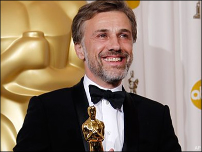 Waltz goes from Hollywood unknown to Oscar winner