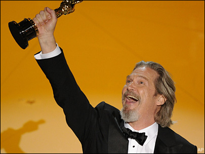 Jeff Bridges wins best actor Oscar