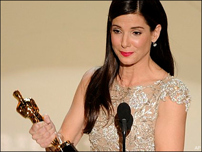 'Blind Side' brings Oscar win for Sandra Bullock