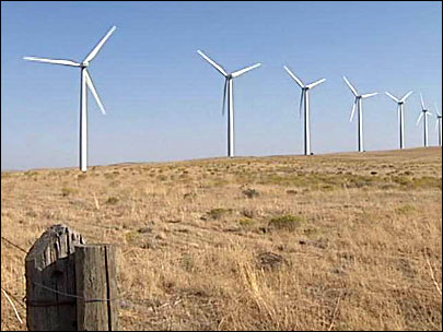Excess hydro power could force wind farms to shut down