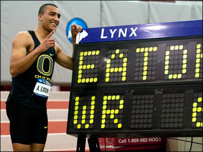 Duck grad Eaton part of U.S. 'tsunami of talent' in decathlon