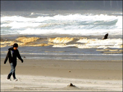 Oregon Coast quandary: Why is the surf brown?
