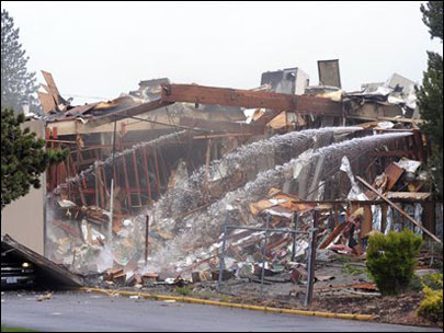 2010 bullet factory fire cleaned up: 'A miracle no one was killed'