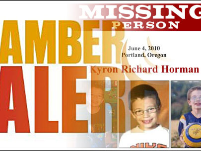 Why no Amber Alert for Kyron Horman?