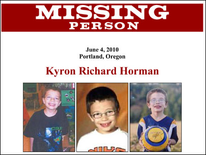 Relatives of missing Oregon boy urge optimism