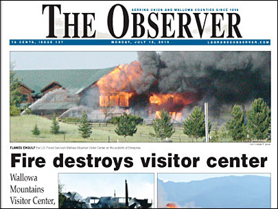 Observer La Grande Oregon Newspaper http://www.kval.com/news/local